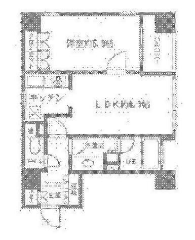 ニューシティアパートメンツ銀座イーストⅠ / 4階 部屋画像1