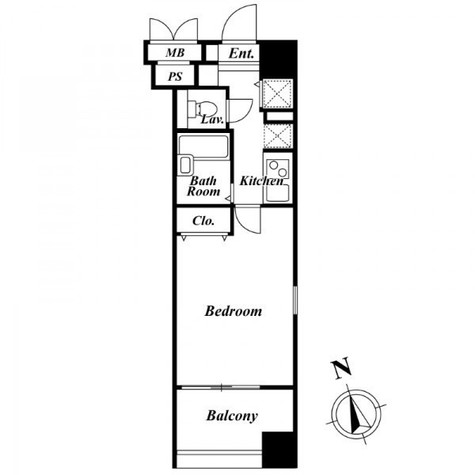 HF南麻布レジデンス(旧メインステージ南麻布 Ⅲ) / 3階 部屋画像1