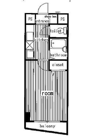 プレール三田 / 4階 部屋画像1