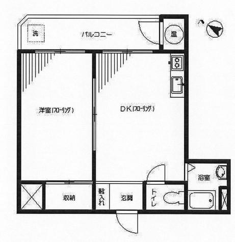リリーハイツ / 3階 部屋画像1
