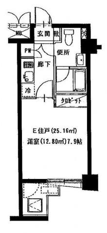 KDXレジデンス門前仲町 / 3階 部屋画像1