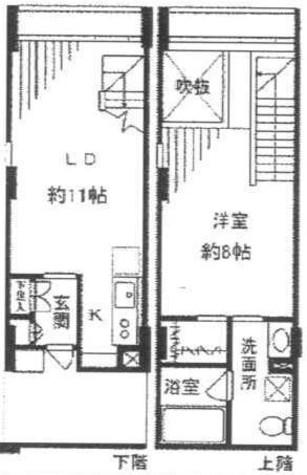 KDXレジデンス自由が丘 / 3階 部屋画像1