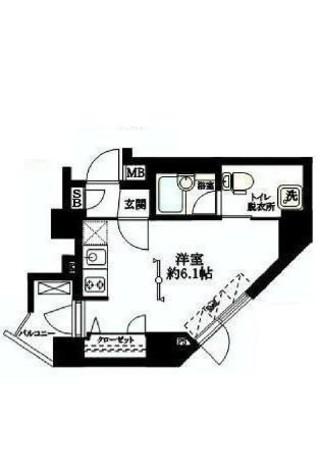 BRIZZ新宿中井(ブライズ新宿中井) / 410 部屋画像1