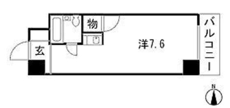 コスモシティ文京 / 5階 部屋画像1