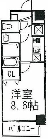 エムスクエア / 3階 部屋画像1