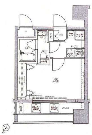 洋室は6.5畳あります。