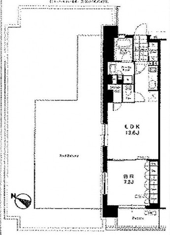 アパートメンツ三軒茶屋・アイビーテラス / 701 部屋画像1