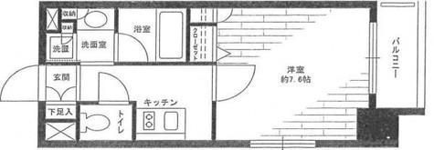 コンフォリア清澄白河サウス / 4階 部屋画像1