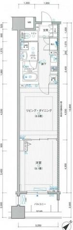 LA.PRYLE新横浜(エルエープライル新横浜) / 6階 部屋画像1