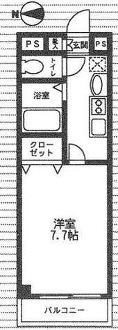 シャンティオンV / 5階 部屋画像1