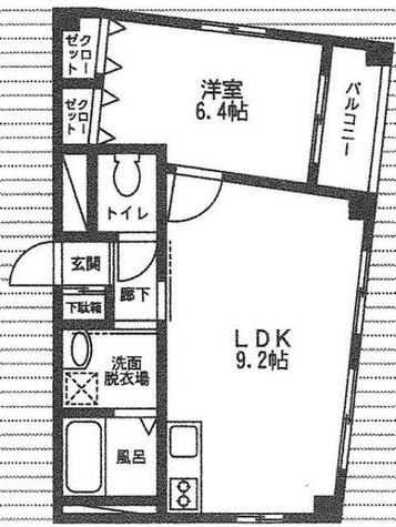 シャンティオンV / 8階 部屋画像1
