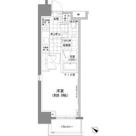 パークハビオ人形町 / 2階 部屋画像1