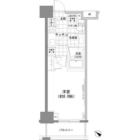 パークハビオ人形町 / 11階 部屋画像1