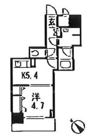銀座レジデンス伍番館 / 9階 部屋画像1