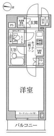 ルーブル蒲田七番館 / 4階 部屋画像1