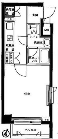 ルーブル学芸大学七番館 / 7階 部屋画像1