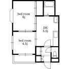 パールマンション / 202 部屋画像1