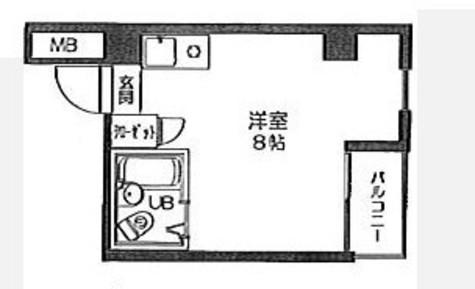 フォレスト四ツ谷 / 3階 部屋画像1