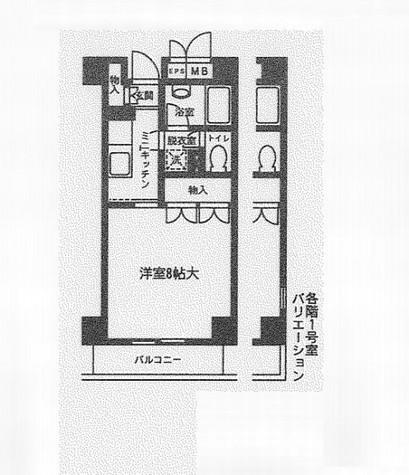 メイフラワー西片 / 2階 部屋画像1