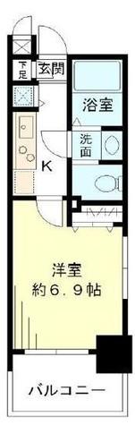 レジデンシア麻布十番 / 2階 部屋画像1