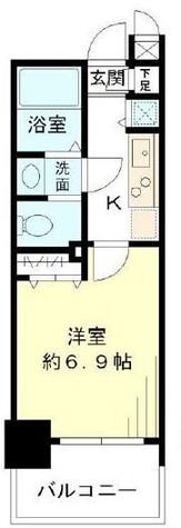 レジデンシア麻布十番 / 3階 部屋画像1