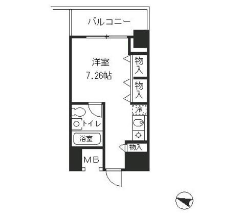 メゾン・ド・ヴィレ麻布台 / 304 部屋画像1