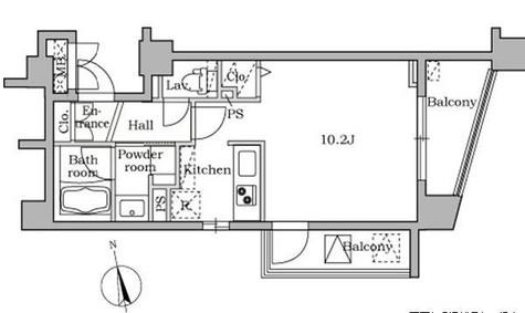 レジディア大井町Ⅱ(旧パシフィックレジデンス大井町Ⅰ) / 8階 部屋画像1