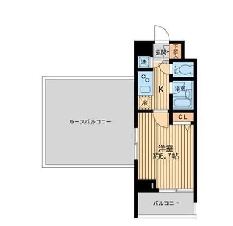 HF早稲田レジデンス / 6階 部屋画像1