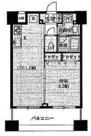 アーバネックス戸越銀座(旧:ステイシス戸越銀座) / 10階 部屋画像1