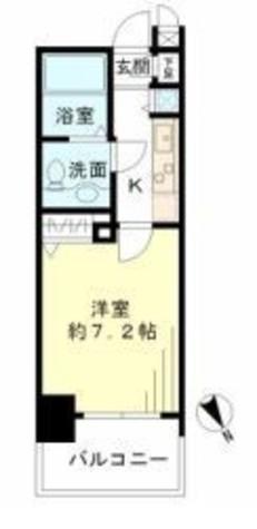 レジデンシア麻布十番 / 9階 部屋画像1