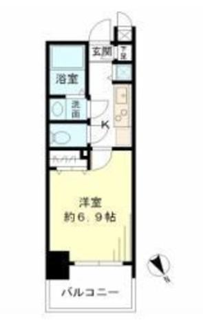 レジデンシア麻布十番 / 7階 部屋画像1