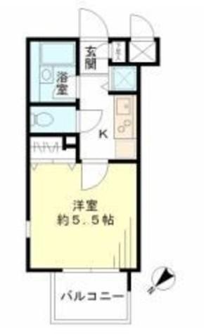 レジデンシア麻布十番 / 10階 部屋画像1