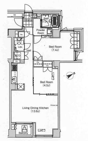 グローブプレイス六本木永坂 / 5階 部屋画像1