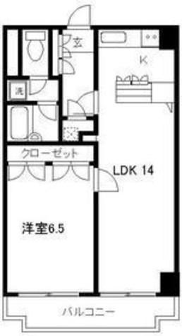 コンフォール目黒 / 4階 部屋画像1