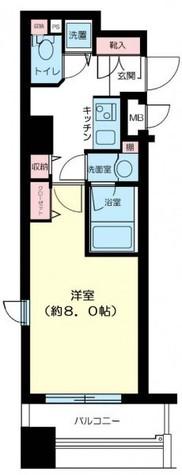 パークウェル京橋 / 9階 部屋画像1