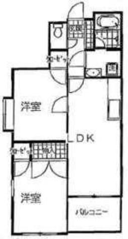 フラワリーパレス雪谷 / 1階 部屋画像1