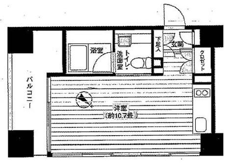 Ti-HIGASHIAZABU(ティー東麻布) / 8階 部屋画像1