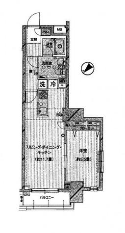 プレール・ドゥーク西横浜 / 904 部屋画像1