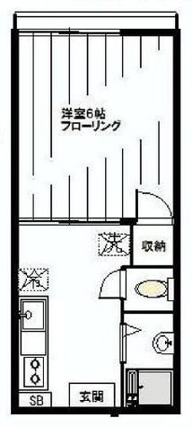 ローレルハイツ / 2階 部屋画像1