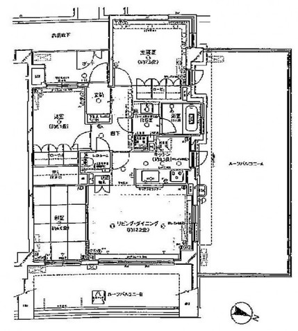 アールブラン西馬込トロア / 6階 部屋画像1