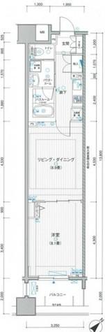 LA.PRYLE新横浜(エルエープライル新横浜) / 2階 部屋画像1