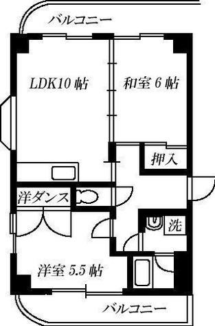 ベルロシエ / 4階 部屋画像1
