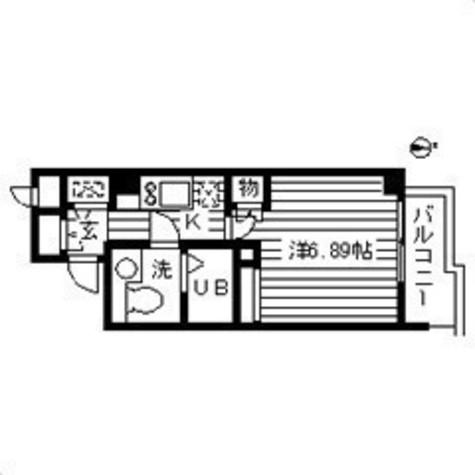 ウインベルデュエット恵比寿 / 1階 部屋画像1