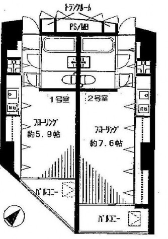 SPERANZA恵比寿(スペランザ恵比寿) / 202 部屋画像1