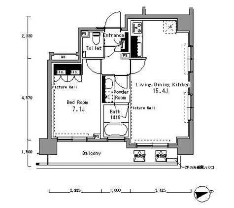 パークアクシス渋谷桜丘サウス / 501 部屋画像1