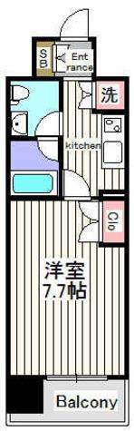 セジョリ御茶ノ水Ⅱ / 1階 部屋画像1