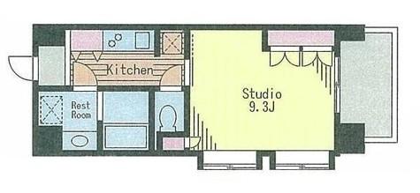 コートラクリア京橋 / 3階 部屋画像1