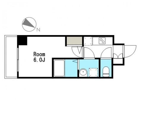 ライジングプレイス大森 / 2階 部屋画像1