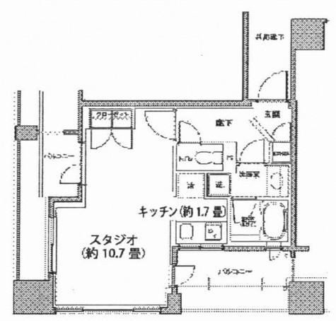 レジディア市ヶ谷 / 2階 部屋画像1