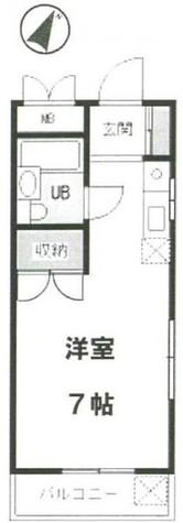 メゾン平 (平町1) / 303 部屋画像1